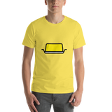 Emoji T-Shirt Store | Butter emoji t-shirt in Yellow