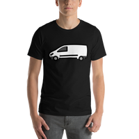Emoji T-Shirt Store | Delivery Truck emoji t-shirt in Black