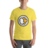 Emoji T-Shirt Store | Curry Rice emoji t-shirt in Yellow