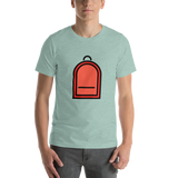 Emoji T-Shirt Store | Backpack emoji t-shirt in Green