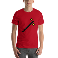 Emoji T-Shirt Store | Magic Wand emoji t-shirt in Red