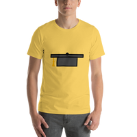 Emoji T-Shirt Store | Graduation Cap emoji t-shirt in Yellow