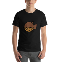 Emoji T-Shirt Store | Blowfish emoji t-shirt in Black