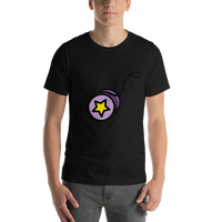 Emoji T-Shirt Store | Yo-Yo emoji t-shirt in Black