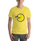Emoji T-Shirt Store | Fortune Cookie emoji t-shirt in Yellow