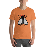 Emoji T-Shirt Store | Fly emoji t-shirt in Orange