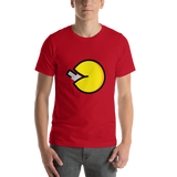 Emoji T-Shirt Store | Fortune Cookie emoji t-shirt in Red