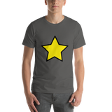 Emoji T-Shirt Store | Star emoji t-shirt in Dark gray