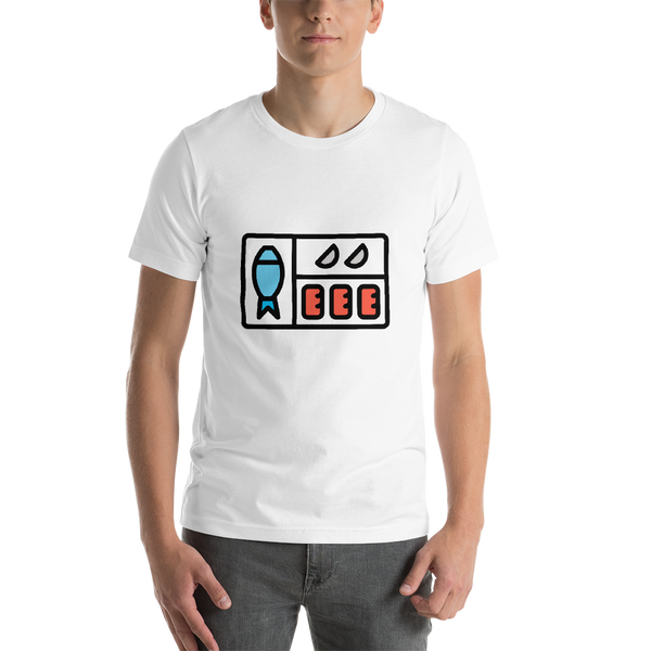 Emoji T-Shirt Store | Bento Box emoji t-shirt in White