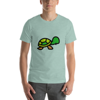 Emoji T-Shirt Store | Turtle emoji t-shirt in Green