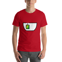 Emoji T-Shirt Store | Teacup Without Handle emoji t-shirt in Red