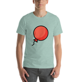 Emoji T-Shirt Store | Balloon emoji t-shirt in Green
