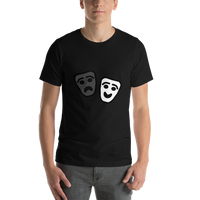 Emoji T-Shirt Store | Performing Arts emoji t-shirt in Black