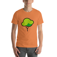 Emoji T-Shirt Store | Deciduous Tree emoji t-shirt in Orange