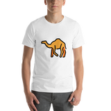 Emoji T-Shirt Store | Camel emoji t-shirt in White