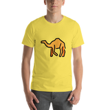 Emoji T-Shirt Store | Camel emoji t-shirt in Yellow