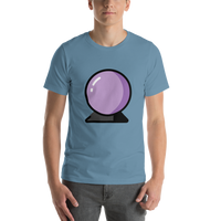Emoji T-Shirt Store | Crystal Ball emoji t-shirt in Blue