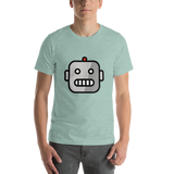 Emoji T-Shirt Store | Robot emoji t-shirt in Green
