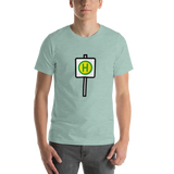 Emoji T-Shirt Store | Bus Stop emoji t-shirt in Green