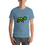 Emoji T-Shirt Store | Turtle emoji t-shirt in Blue
