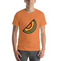 Emoji T-Shirt Store | Melon emoji t-shirt in Orange