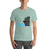 Emoji T-Shirt Store | Ferry emoji t-shirt in Green