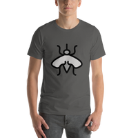 Emoji T-Shirt Store | Mosquito emoji t-shirt in Dark gray
