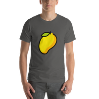 Emoji T-Shirt Store | Mango emoji t-shirt in Dark gray