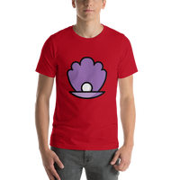 Emoji T-Shirt Store | Oyster emoji t-shirt in Red