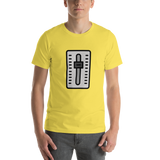 Emoji T-Shirt Store | Level Slider emoji t-shirt in Yellow