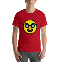 Emoji T-Shirt Store | Disguised Face emoji t-shirt in Red