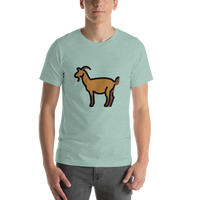 Emoji T-Shirt Store | Goat emoji t-shirt in Green