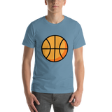Emoji T-Shirt Store | Basketball emoji t-shirt in Blue