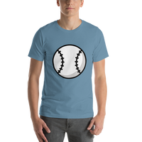 Emoji T-Shirt Store | Baseball emoji t-shirt in Blue