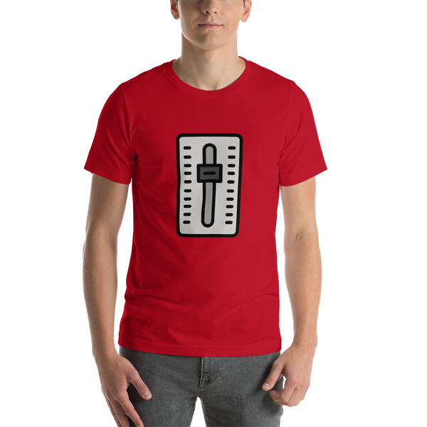 Emoji T-Shirt Store | Level Slider emoji t-shirt in Red