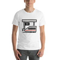 Emoji T-Shirt Store | Station emoji t-shirt in White