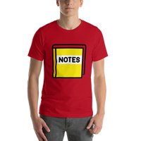 Emoji T-Shirt Store | Notebook With Decorative Cover emoji t-shirt in Red
