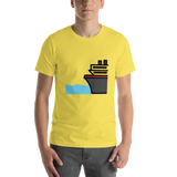 Emoji T-Shirt Store | Ferry emoji t-shirt in Yellow