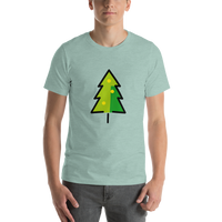Emoji T-Shirt Store | Christmas Tree emoji t-shirt in Green