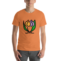 Emoji T-Shirt Store | Bouquet emoji t-shirt in Orange