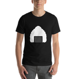 Emoji T-Shirt Store | Rice Ball emoji t-shirt in Black