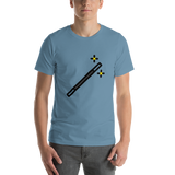 Emoji T-Shirt Store | Magic Wand emoji t-shirt in Blue