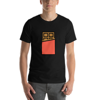 Emoji T-Shirt Store | Chocolate Bar emoji t-shirt in Black