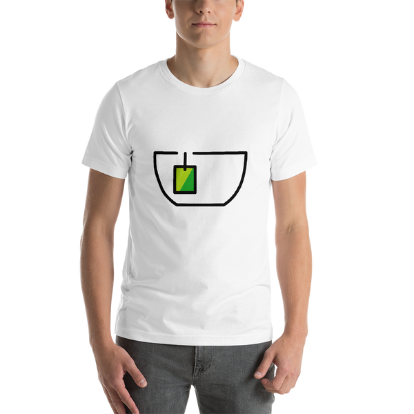Emoji T-Shirt Store | Teacup Without Handle emoji t-shirt in White