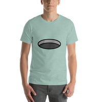 Emoji T-Shirt Store | Hole emoji t-shirt in Green