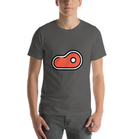 Emoji T-Shirt Store | Cut Of Meat emoji t-shirt in Dark gray