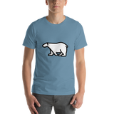 Emoji T-Shirt Store | Polar Bear emoji t-shirt in Blue