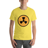 Emoji T-Shirt Store | Radioactive emoji t-shirt in Yellow