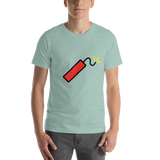 Emoji T-Shirt Store | Firecracker emoji t-shirt in Green