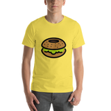 Emoji T-Shirt Store | Bagel emoji t-shirt in Yellow